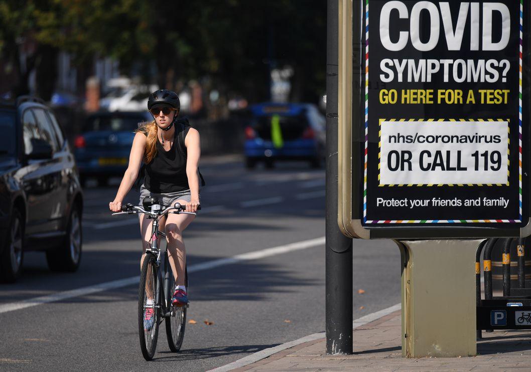 Reino Unido regista 6.178 novas infecções, mais 25% do que na véspera